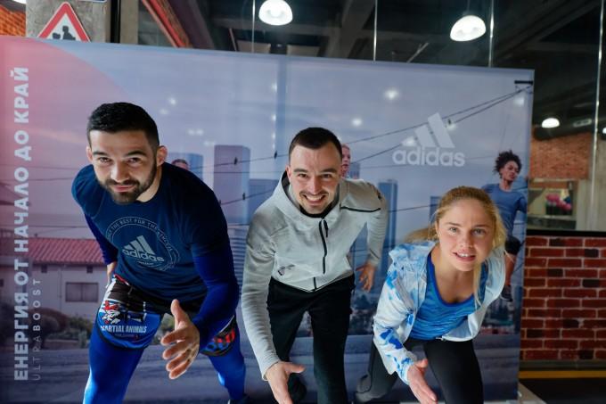 Ангел Караиванов, Мартин Гаджев и Надя Младенова (отляво надясно)