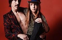 Антъни Кидис и сина му - 7-годишния Евърли Беър Кидис