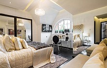 Апартаментът на Александър Макуин в Лондон