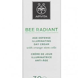 Дневен антиейдж крем с озаряващ ефект Bee Radioant на APIVITA