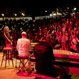 """""""Щурците"""" избраха Афмитеатъра в Созопол за своя последен концерт."""