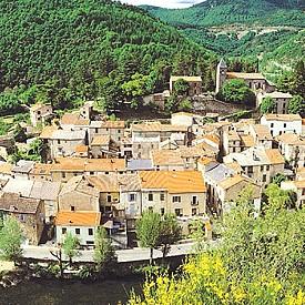 Френското селце Авен