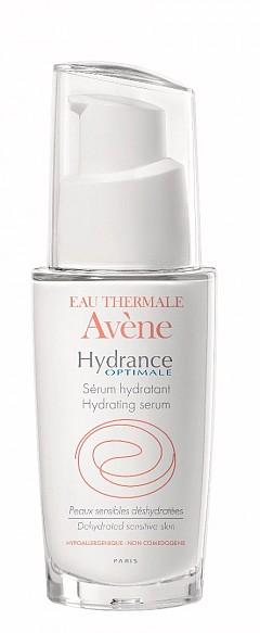 Хидратиращ серум Hidrance Otimale на AVENE с концентрация на 77% термална вода Avene интензивно хидратира и успокоява кожата*
