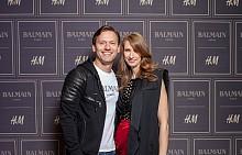 Орлин Павлов и Анна Великова, PR Мениджър H&M България