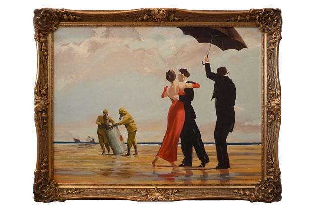 Редки картини на Banksy ще бъдат изложени в Лондон