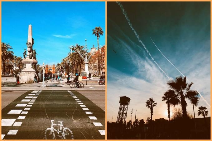 В топлата прегръдка на Барселона