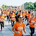 Пълен успех за първото женско бягане