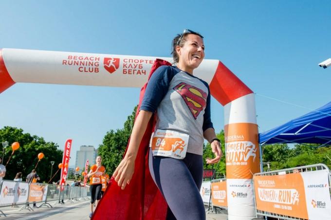 Параскева Радева със своя костюм на Superwoman