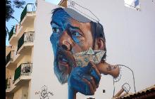 Кубизъм и реализъм в уличните картини на Берлин