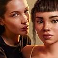 Calvin Klein се извини за целувката на Бела Хадид с виртуалния модел