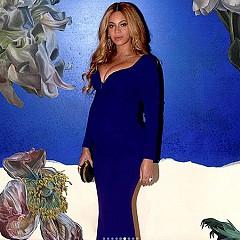 Бийонсе по време на втората бременност