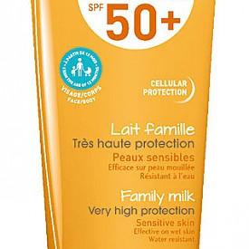 Няма нужда да носите продукт за всеки член от семейството, ако в плажната чанта сте сложили новото фамилно слънцезащитно мляко Photoderm MAX SPF 50+ на BIODERMA.