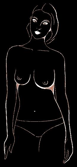 АСИМЕТРИЧНИ  Може да звучи странно, но много жени имат различни по размер и форма гърди. Ако едната ви гърда е по-голяма или по-обемна в горната си или в долната си част от другата,значи имате асиметрична форма на гърдите. Обикновено несъответствието не е драстично, но е добре да избирате сутиени с подвижна подплънка, за да може да регулирате размера и формата.