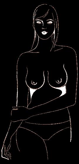 """ОВАЛНА ФОРМА На пръв поглед тези гърди изглеждат почти като формата """"Издължени"""", но са по-големи и овални от тях. Когато избирате сутиен, не обръщайте внимание на всички тези модели, които добавят обем, и с които може би ви бомбардират от всички ъгли."""