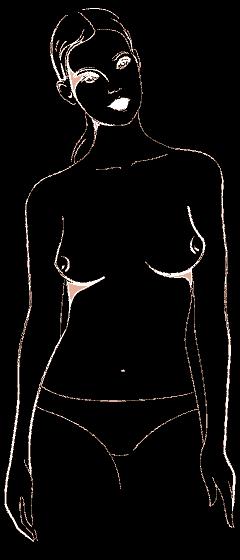 ИЗТОК – ЗАПАД Насочени ли са зърната ви навън? Дори и да не сочат зърната ви в две противоположни посоки на компаса, но не сочат и центъра, все пак сте в тази категория. Търсете си форма на сутиен, който приближава една до друга гърдите ви и ги събира в деколтето на тишърта ви.