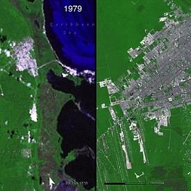 Разширяването на Канкун в Мексико