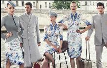 Китайска авиокомпания облече екипажа си в haute couture униформи