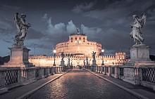 Крепостта Сант Анжело в Рим