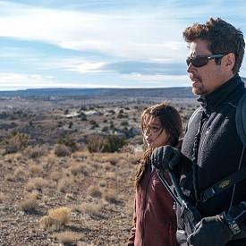 """Втората част на екшъна """"Сикарио 2: Солдадо"""" показва как нарко-войната на американо-мексиканската граница ескалира, след като картелите са започнали да осъществяват през нея трафик на терористи. Федералният агент Мат Грейвър (Джош Бролин) отново работи в екип с непредсказуемия Алехандро (Бенисио Дел Торо)."""