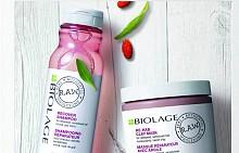 Линията RECOVER от серията R.A.W. на BIOLAGE предлага шампоан с юка и годжи бери и маска с масло от кориандър и каолинова глина, които в комбинация възвръщат блясъка, еластичността и силата на изтощената чувствителна коса.