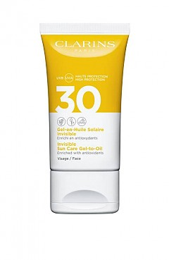 Гладка и нежна ще бъде кожата ви, ако заложите на гел-маслото от новата слънцезащитна линия на CLARINS