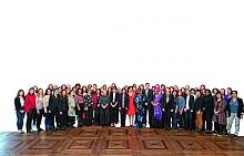 Участниците в конференцията Women4Change