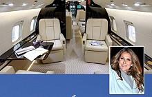 Селин Дион има от тези самолети, които са известни с това, че могат да летят до 16 часа без да има нужда от допълнително зареждане с гориво. Моделът е Bombardier Global Express XRS и струва 48 милиона долара.