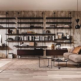 Рафтовете от пода до земята са практично и стилно решение за съхранение на книги и други красиви вещи. Идеята е на Chaplins Furniture (www.chaplins.co.uk).