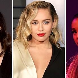 Майли Сайръс, Лана Дел Рей и Ариана Гранде записаха песен за Ангелите на Чарли