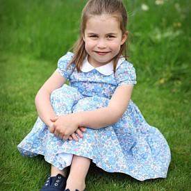 Малката принцеса на Уилям и Кейт порасна с още една година
