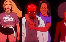 Всички анимирани звезди, които разпознахме във Feels like Summer на Childish Gambino