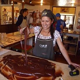 Южна Америка - родината на какаото! Всички знаем, че основната съставка за направата на шоколад е какаото, а именно Централна и Южна Америка са свързани с произхода му. Там е и най-доброто място, където можете да се запознаете с процеса на отглеждане на какао и съответно с методиката и процеса на превръщането му в шоколад.