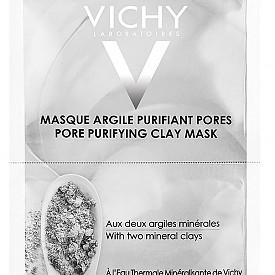 Маска за лице с глина от VICHY. Съдържа 2 вида минерална глина– каолин и бентонит, които абсорбират себума, свиват порите и премахват замърсяванията. С екстракт от алое вера и алантоин с успокояващ и хидратиращ ефект. 6.16 лв.