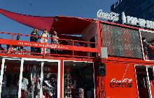 Coca-Cola Pop-Up Store в София, Пловдив и Бургас