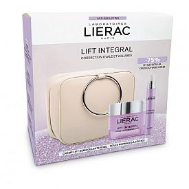 Комплект Lift Intergral на LIERAC: моделиращ лифтинг крем, околоочен лифтинг серуми несесер,150 лв.,