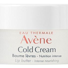 УСТНИТЕ не обичат зимата, но обожават зимната козметика, предназначена за тях. Стават толкова меки, колкото и през лятото не са! За да им дадете пълноценна грижа през февруари, използвайте новото попълнение в серията Cold Cream на AVENE – балсам за устни за интензивно подхранване с топъл аромат на ванилия. Мощната формула с масло от жожоба (известно с регенеративните си свойства) незабавно успокоява, интензивно подхранва и възстановява, дълготрайно защитава.  Как да ексфолирате? Нанесете плътен слой Cold Cream балсам за устни на AVENE, а отгоре добавете малко пудра захар. Нежно масажирайте около минута-две, след което отстранете с кърпичка, напръскана с Термална вода AVENE.  AVENE Cold Cream балсам за устни, 10 мл, 18.60 лв.