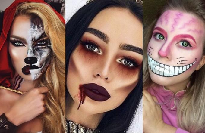20 идеи за ефектен Halloween грим, който можете да си направите сами