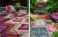 Един килим и няма да познаете двора си