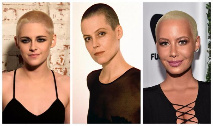 Кои звездни дами смело се лишиха от косите си?