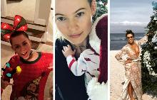 Как звездите посрещнаха Рождество?