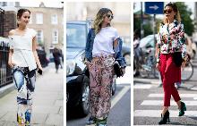 Цветният панталон е диамантът на пролетния гардероб.