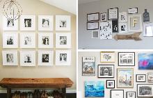 10 съвета как да направите перфектната стена с картини