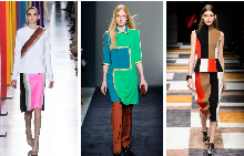 Цветна геометрия в зимния гардероб
