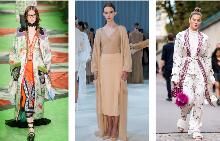 Халат за луксозна визия през пролетта на 2017-та