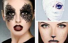 Идеи за различен грим за Halloween