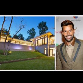 Рики Мартин си купи къща в Бевърли Хилс