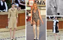 Модели от колекция есен/зима Chanel 2015, Cruise, 2013, обувки Chanel от 1961 г.