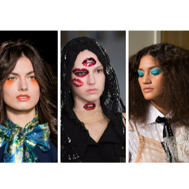 Екстравагантен грим от колекциите висша мода