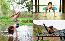 Тези снимки ще ви накарат да опънете килимчето за йога