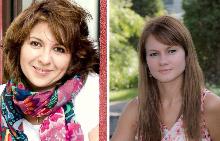 Богдана Трифонова, модератор на срещата и Милена Каменова, лектор психолог